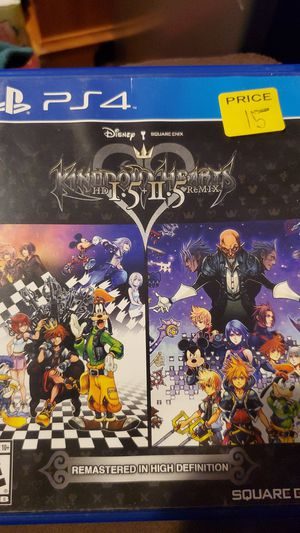 Kingdom Hearts PlayStation 4 for Sale in Gainesville, VA
