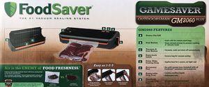 Food Saver GameSaver Outdoorsman Vacuum Sealer Black/Orange GM2060-000 for Sale in San Antonio, TX