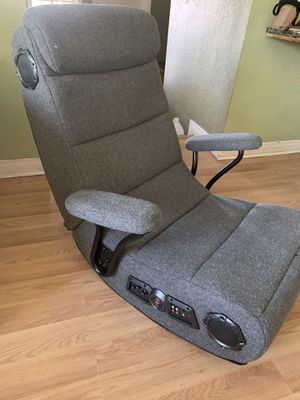 Gamer chair with Bluetooth speakers by PotteryBarn for Sale in San Dimas, CA
