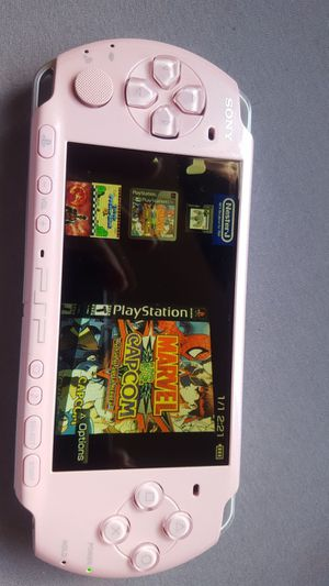 2001 * pink * - slim - PSP with 5,000 games !!!! for Sale in Santa Ana, CA