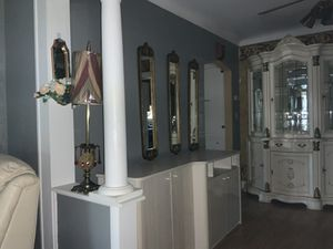 Set Of 4 Gold Mirrored Wall Hangings for Sale in Saginaw, MI