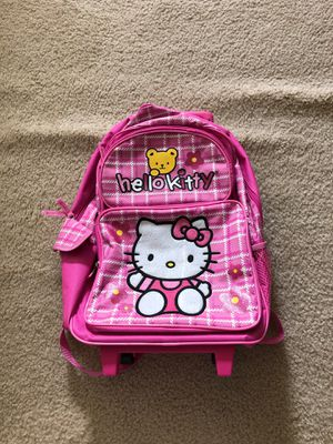 Hello kitty rolling backpack NEW for Sale in Las Vegas, NV