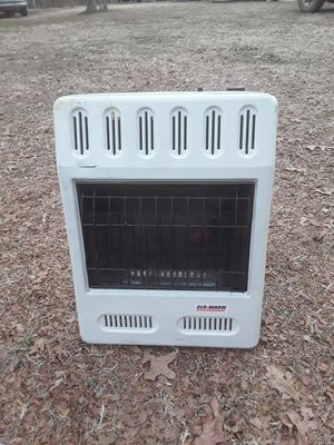 Glo-Warm natural gas ventless heater for Sale in McLoud, OK