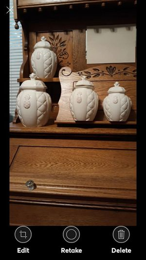 NICE FOUR PC. PINEAPPLE CANNISTER SET for Sale in Lynchburg, VA