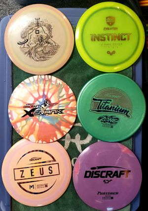 Disc Golfing Distance Driver's, Fairway Driver's, Mid-Range Driver's, and Putter's.. for Sale in Palatine, IL