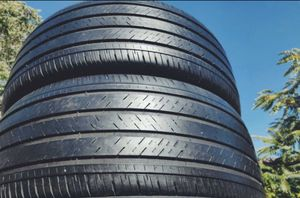 (2) Michelin 225/45r18 Pilot HX mxm4 used tires 225/45/18 for Sale in Pomona, CA