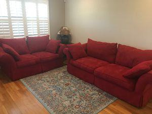 Red sofas for Sale in Reston, VA