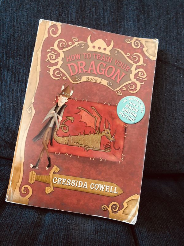 How to train your dragon book #1
