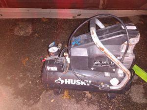 Husky electric air compressor for Sale in Cedar Park, TX