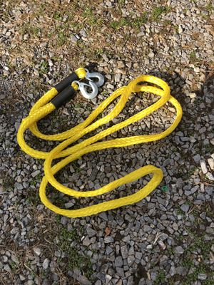 20' nylon tow rope with hooks for Sale in Rustburg, VA