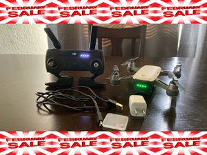 DJI Spark Drone Alpine White With Controller, Battery, & 32GB Micro SD for Sale in Bakersfield, CA