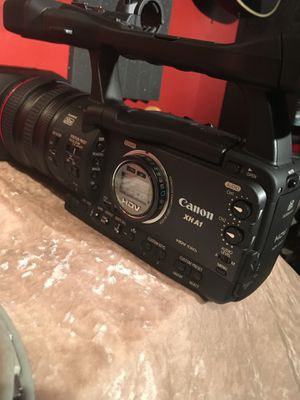 Canon HD Pro XH A1 with accessories and tapes for Sale in Gardena, CA