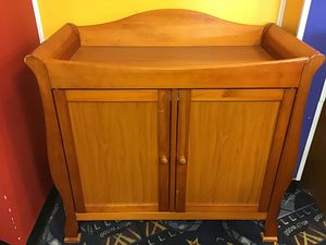 Cherry Changing Table for Sale in Virginia Beach, VA