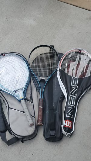 Wilson tennis rackets for Sale in Stockton, CA