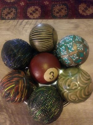 Assorted decortave balls for Sale in Pittsburgh, PA