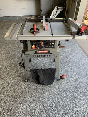 "Craftsman 10 "" 5000 RPM table saw for Sale in Justice, IL"