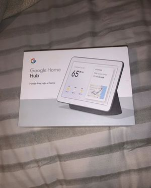 Google home hub (NEW) for Sale in Perris, CA