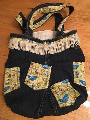 Reclaimed Blue Jean Bag for Sale in Snellville, GA