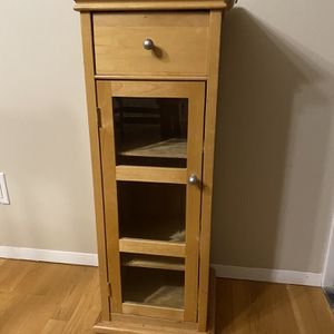 End Shelf Table Or Wall Cabinet for Sale in Bellevue, WA