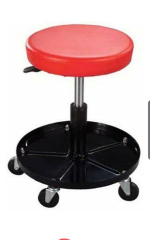 Adjustable Mechanics Rolling Creeper Seat Stool Tray Shop Garage Pneumatic Work Chair for Sale in Santa Ana, CA