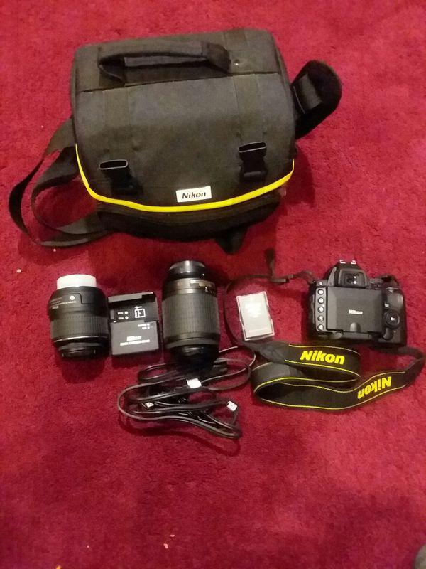Nikon D5000 12.3 MP Digital SLR Camera - Black
