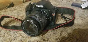 Canon EOS Rebel T2i 18-55mm Lens for Sale in Shoreline, WA