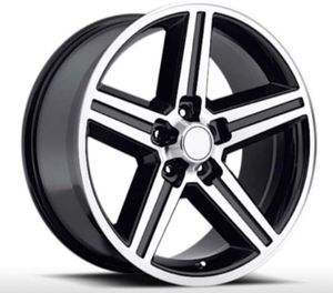"""18"""" 20"""" 22"""" Inch IROC Rims Wheels Black Machine Finish BRAND NEW In Stock Pricing Starting @ $139 Each for Sale in Westminster, CA"""