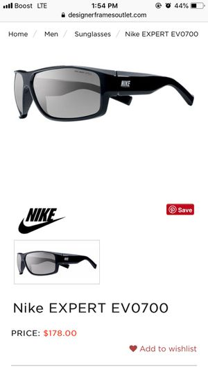 nike sunglasses for Sale in Columbus, OH