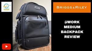 Briggs & Riley @work Medium Cargo LATOP Backpack Black KP426-4- BRAND NEW for Sale in Rancho Cucamonga, CA