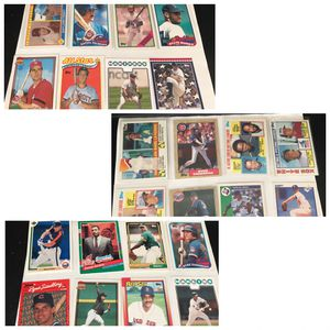 Mix Baseball Cards 1985-early 2000 for Sale in Hawaiian Gardens, CA