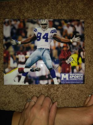 Hall of Fame Dallas Cowboys plaque excellent condition and signed autographed by one player for Sale in Woodbridge, VA
