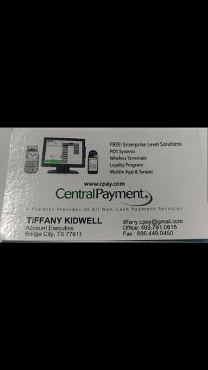 Local Agent. Free mobil swipers and terminals. for Sale in Bridge City, TX