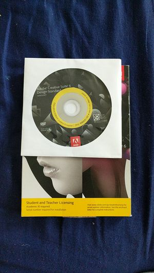 Adobe CS6 Suite for Sale in Eugene, OR