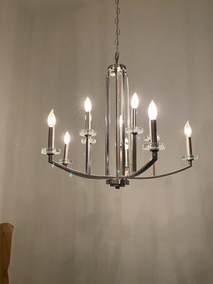 Silver chandelier for Sale in Mercer Island, WA