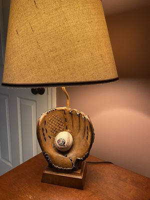 Vintage Baseball Table Lamp for Sale in Bowie, MD