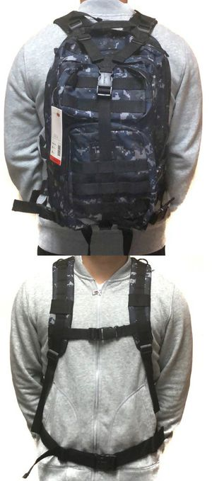Brand NEW! Blue Digital Tactical Backpack For Work/Traveling/Hiking/Biking/Camping/Fishing/Hunting/Outdoors/Sports/Gym for Sale in Carson, CA