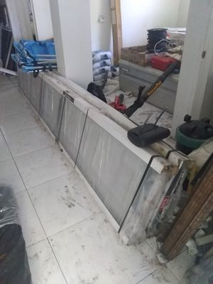 Garage door 7x11 fit 7x10 opening $450 firm for Sale in Oakland Park, FL