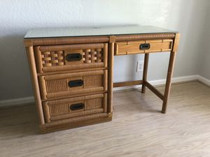 "3 drawer desk. 48"" long, 19"" wide, 30"" high for Sale in Boca Raton, FL"