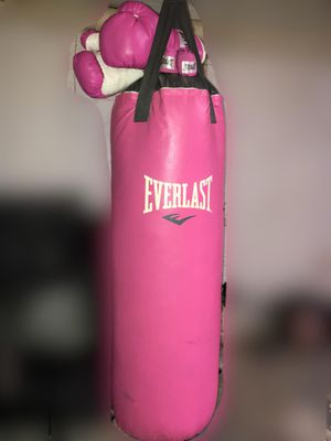 70 lb Everlast punching bag for Sale in Detroit, MI