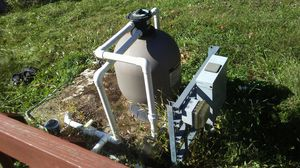 Pool filter and pump for Sale in Ashland City, TN