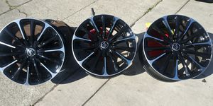 RTX Scopio Rims good conditions 5 lugs for car for Sale in San Jose, CA
