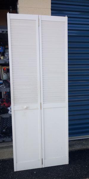 Formica bi-fold door 29 1/2 wide 79 in tall for Sale in Newport News, VA