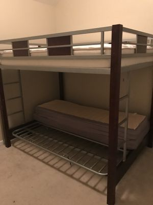 Futon bunk bed must pick up today in union city for Sale in Atlanta, GA