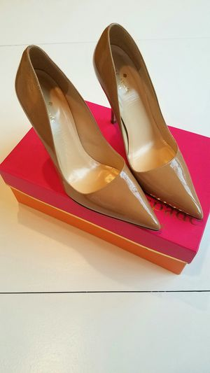 Kate Spade Camel Patent Licorice Pointed Pumps for Sale in Herndon, VA