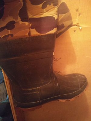 Men fishing hunting boots size 11 for Sale in Portsmouth, VA