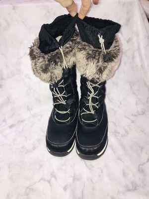 Lands End Size 4 Girls Snow Boots Black for Sale in Littleton, CO