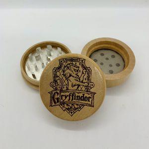 Harry Potter gryffindor laser engraved wood kitchen herb grinder Christmas gift for Sale in Los Angeles, CA