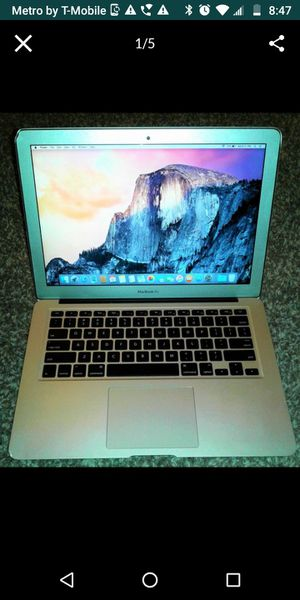 """Apple MacBook Air """"Core i7"""" 2.2 13"""" (Early 2015) for Sale in Penns Grove, NJ"""