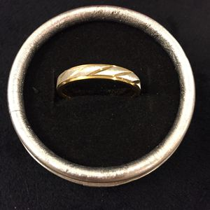 18K Gold plated Unisex Engagement Ring - Code A11 for Sale in Houston, TX