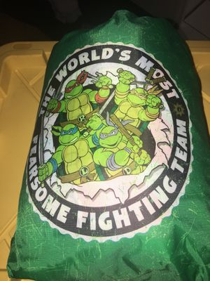 Teenage mutant ninja turtle sleeping bag brand new! PUO Fontana 12.00 price is firm for Sale in Riverside, CA
